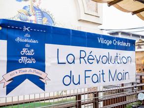 REPORTAGE PHOTO ÉVÉNEMENTIEL : LA RÉVOLUTION DU FAIT MAIN