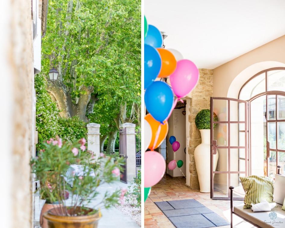 Photographe mariage Mas de Loisonville Grillon Provence Lubéron Gard décoration mas provençal