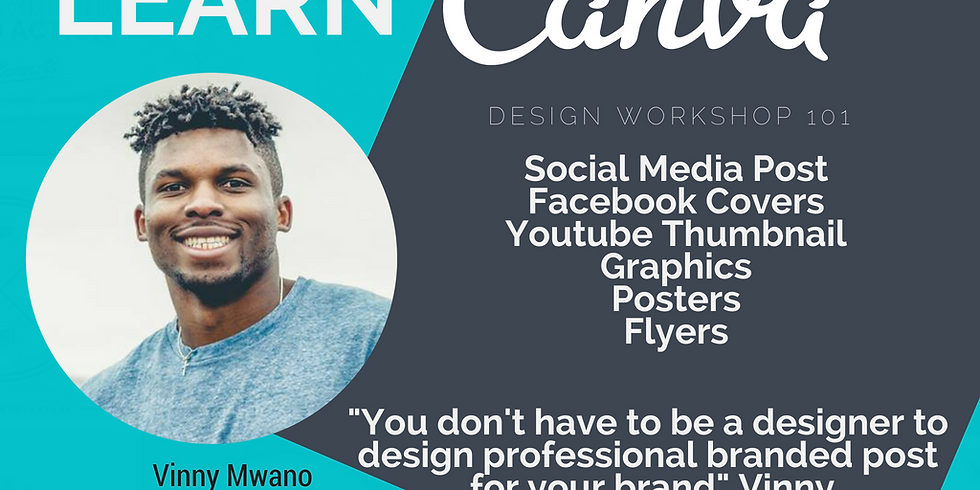 Canva Workshop with Vinny Mwano