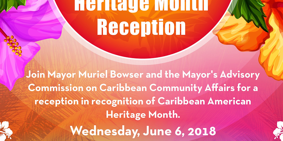 Caribbean American Heritage Month Reception
