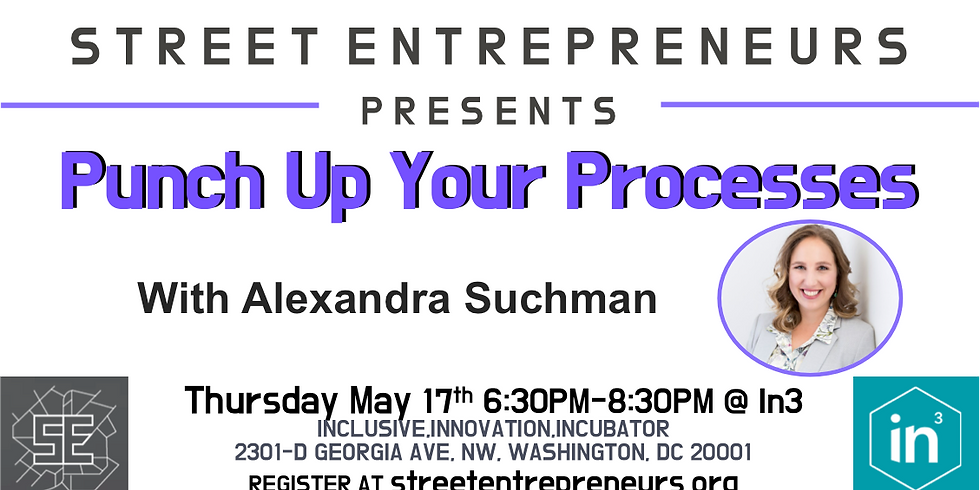 Street Entrepreneurs - Punch Up Your Process