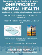Adolescent Mental Health Flyer