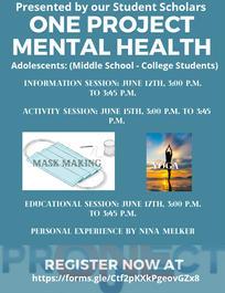 Adolescent Mental Health Flyer