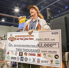5th Place –Dan Hoffman, Dan Hoffman Gla