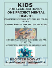 KIDS Mental Health Flyer
