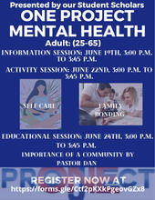 Adults Mental Health Flyer