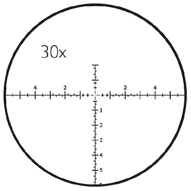 LRD-1P RETICLE