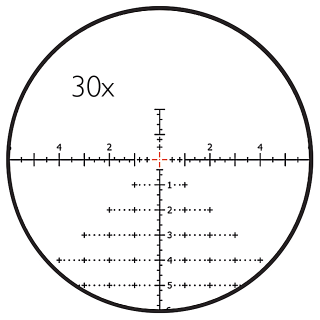 LRD-1T RETICLE