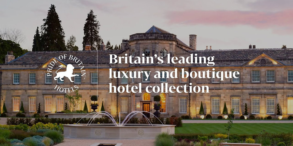 """""""Meet The Hotelier"""" w/Pride of Britain Hotels"""