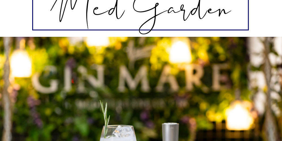 Summer Drinks in the Med Garden