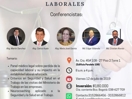 Actualización Legal en Riesgos Laborales y Derecho Laboral