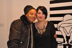 With Artist Ben Jones