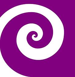 Purple Koru Icon