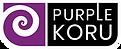 Purple Koru Logo