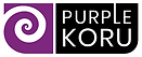 Purple Koru Logo