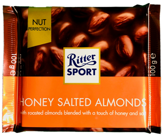 Ritter Sport Honey Salted Almonds