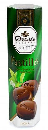 Droste Pastilles Mint Dark Chocolate 100g