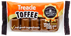 Walker's Nonsuch Treacle Toffee Bar 100g