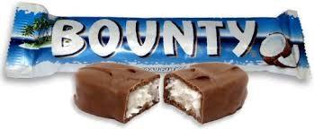 Bounty Milk Choc - 4 Bars For £1