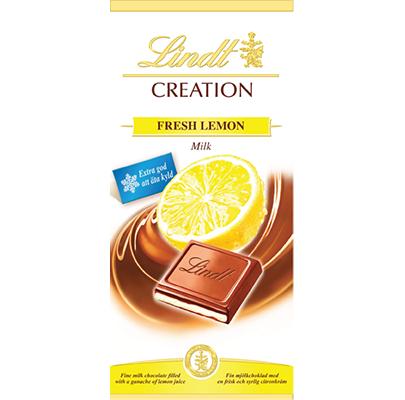 Lindt Creation Fresh Lemon Milk 150g