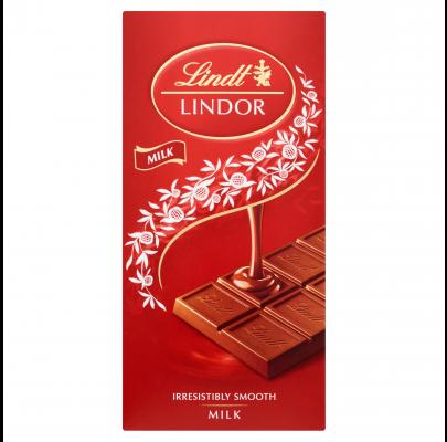 Lindt Lindor Original Milk 100g **BEST BEFORE 31ST MARCH 2021**