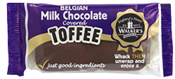 Walker's Nonsuch Milk Chocolate Covered Toffee Bar 100g