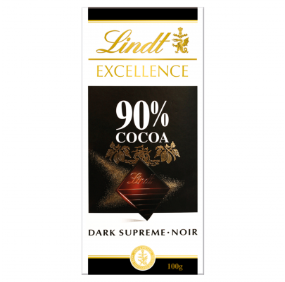 Lindt Excellence Dark 90% 100g