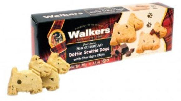 Walker's Shortbread Dottie Scottie Dog 110g Carton