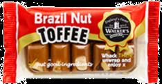 Walker's Nonsuch Brazil Nut Toffee Bar 100g
