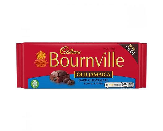 Cadbury Bourneville Old Jamaica 100g Bar