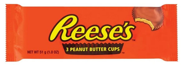 Reece's Peanut Butter Cups 51g **BEST BEFORE 19TH MARCH 2021**