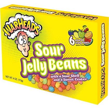 Warheads Sour Jelly Bean Box 113g