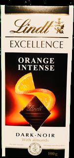 Lindt Excellence Dark Orange Intense Bar 100g