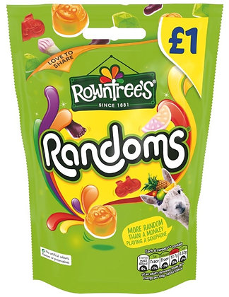 Rowntree's Randoms Share Pouch 120g **BEST BEFORE 30TH APRIL 2021**
