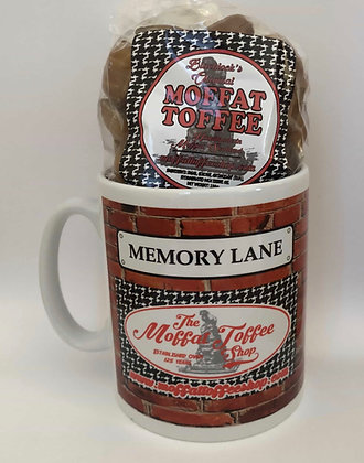 Moffat Toffee Memory Lane Mug (Including Moffat Toffee 198g Bag)