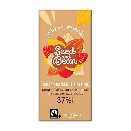 Seed & Bean Sicilian Hazelnut & Almond Milk 85g