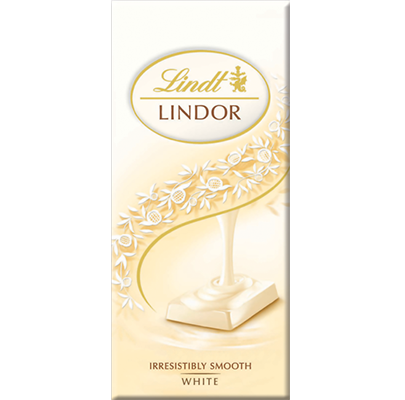 Lindt Lindor White Chocolate 100g **BEST BEFORE 30TH APRIL**