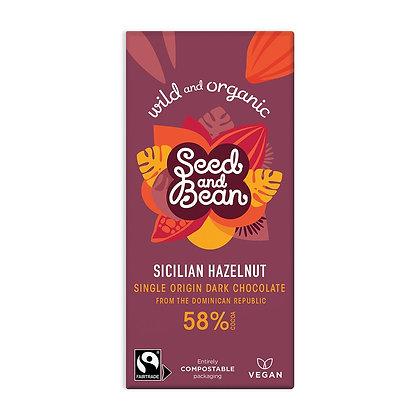 Seed & Bean Sicillian Hazelnut Dark 85g