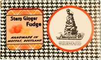 Stem Ginger Fudge Box (Homemade)