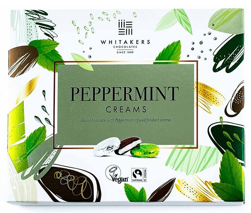 Whitakers Peppermint Creams 200g **BEST BEFORE 31ST MARCH 2021**