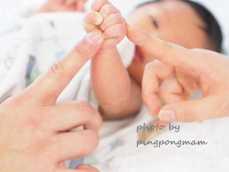 生まれたての新生児フォトも大人気
