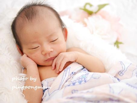 生まれてすぐから生後28日までの「今」を残す│ニューボーンフォト