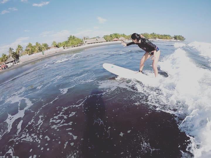 Clases de surf en el salvador