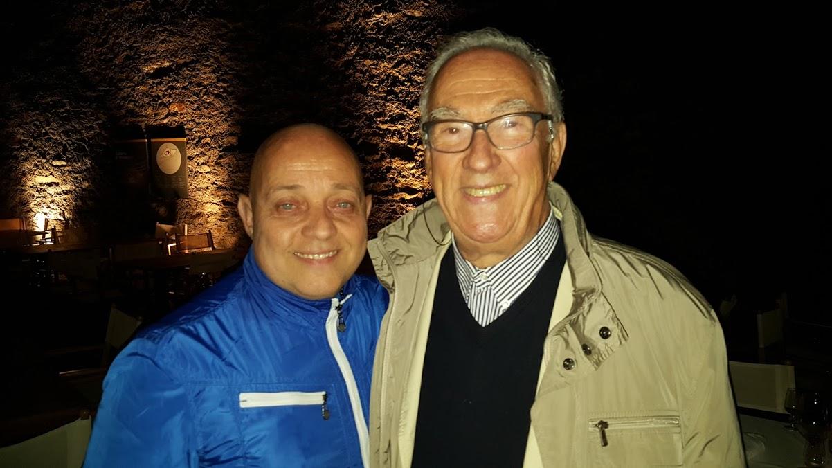 Ghislandi con Bruno Giuranna