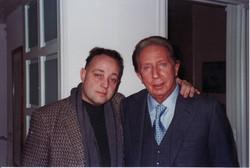 Ghislandi con Mike Bongiorno