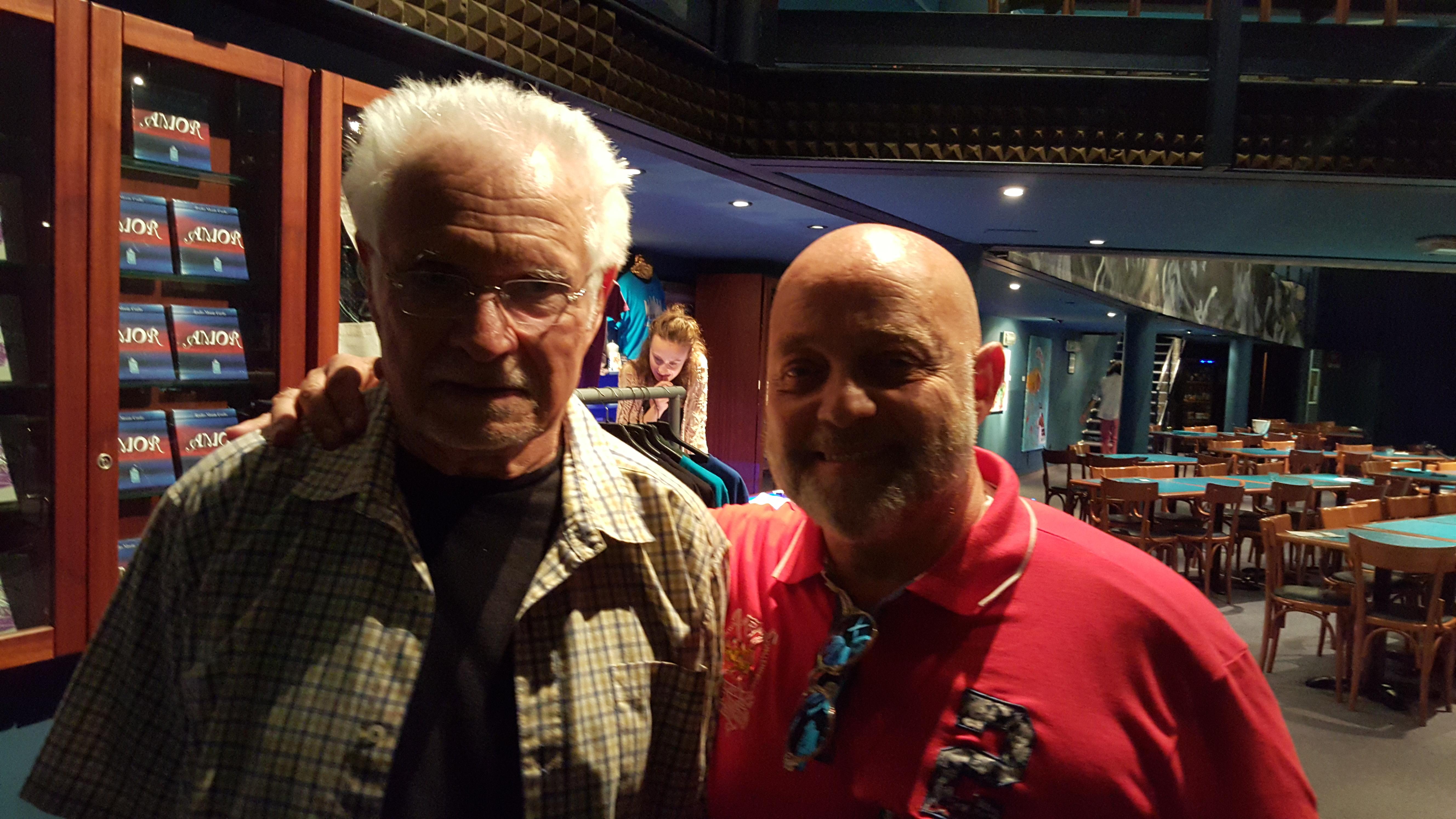Ghislandi con Dave Grusin