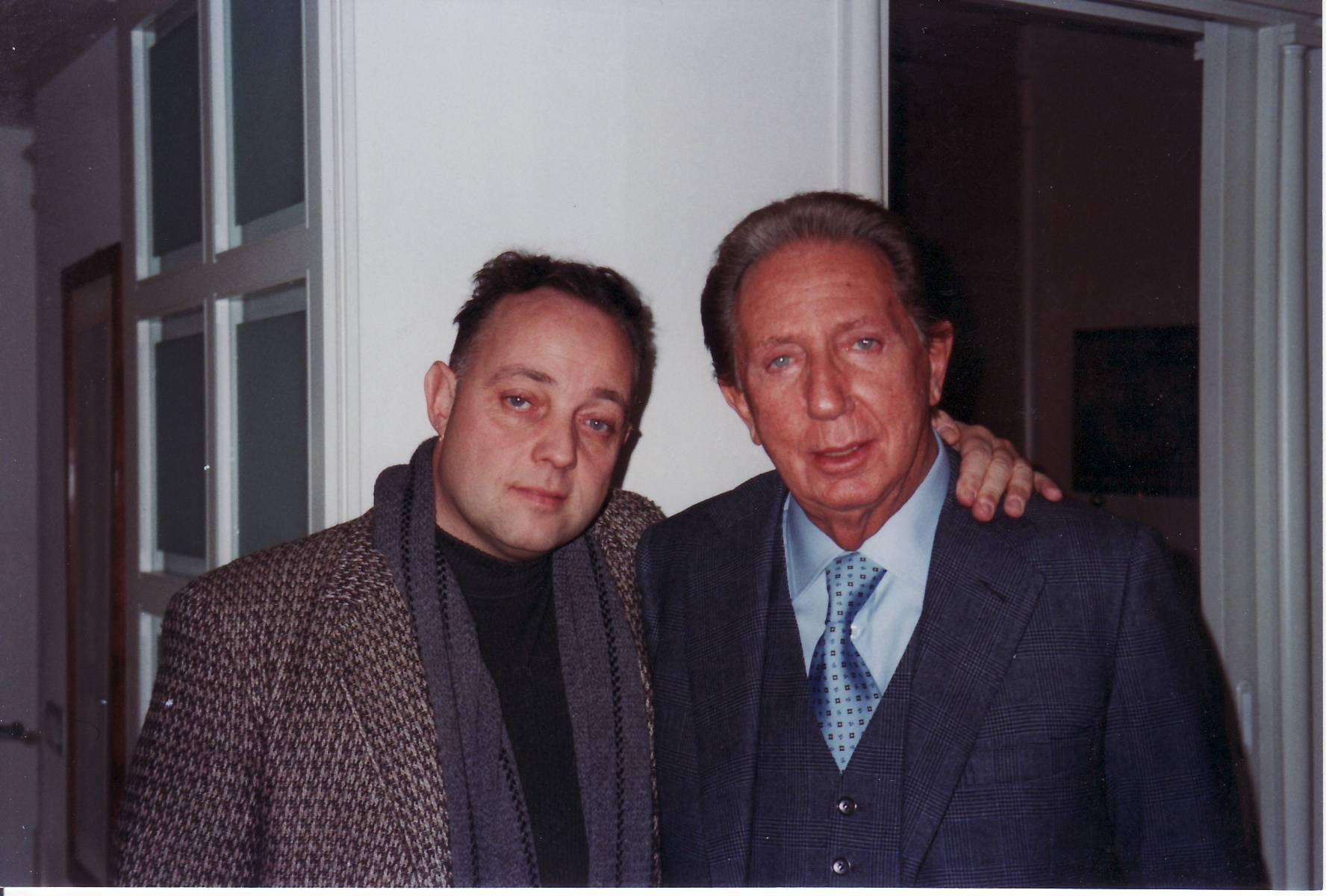 Ghisandi con MIke Bongiorno