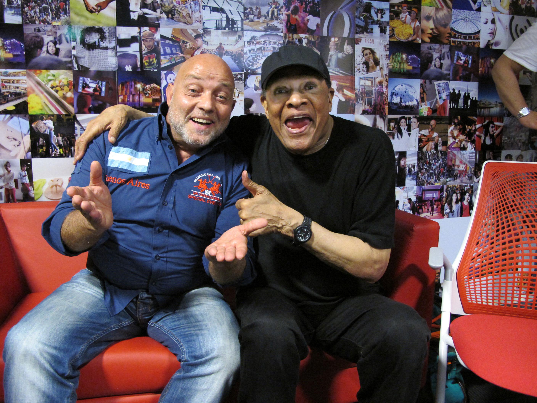 Ghislandi con Al Jarreau