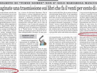 """Nuovo articolo che elogia la mia trasmissione """"Turné Soirée"""" in onda su La1 della RSI la t"""