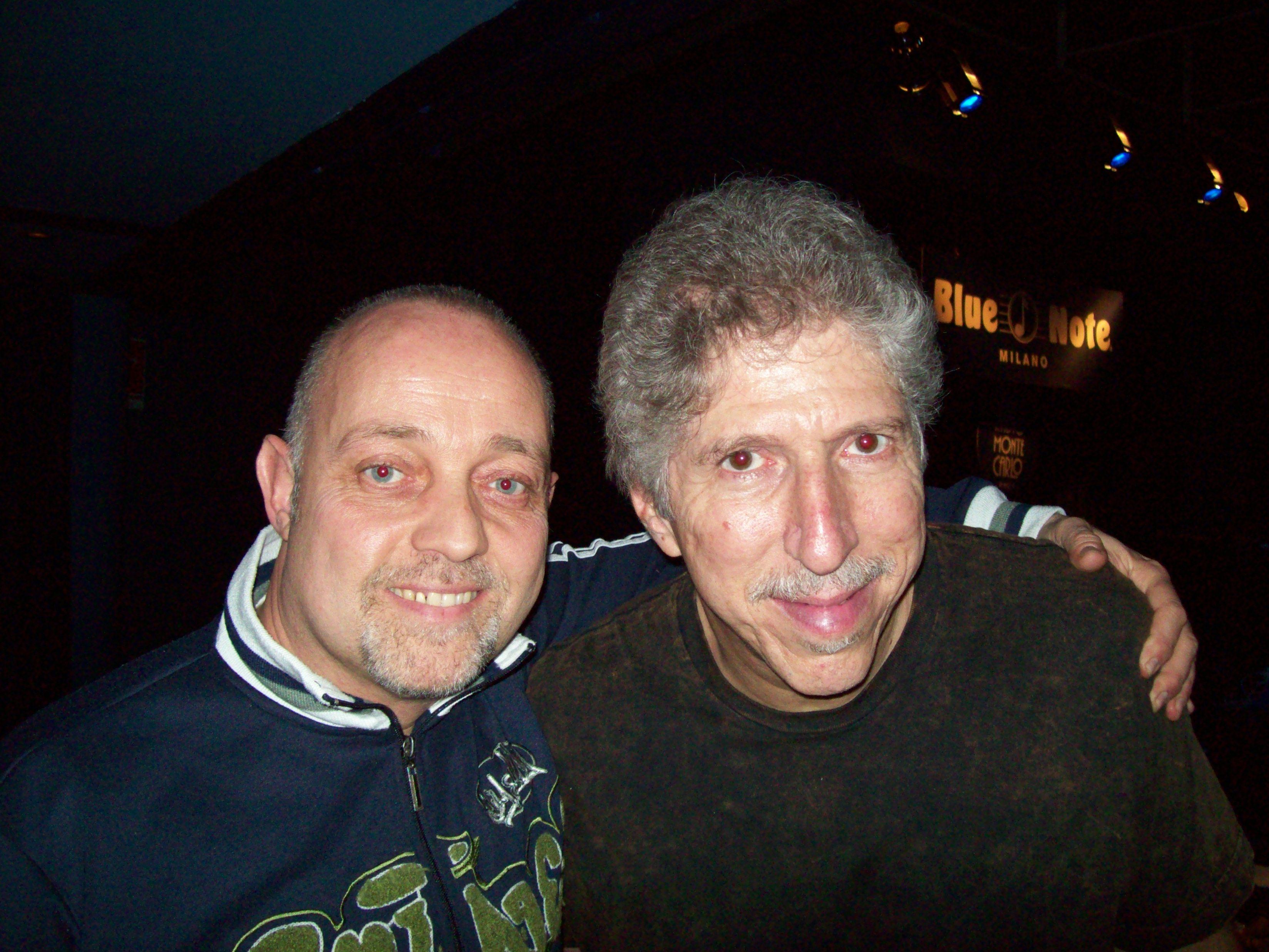 Ghislandi con Bob Mintzer